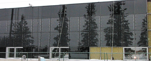 Curtain Wall Solar : Solarscape innovations inc products