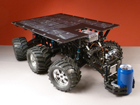 Marz Rover with Custom Solar Panel